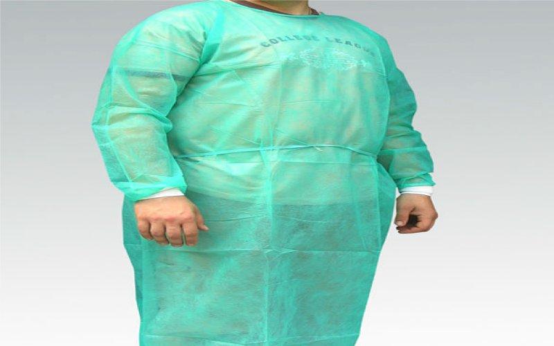 Fartuch chirurgiczny z mankietem bawełnianym