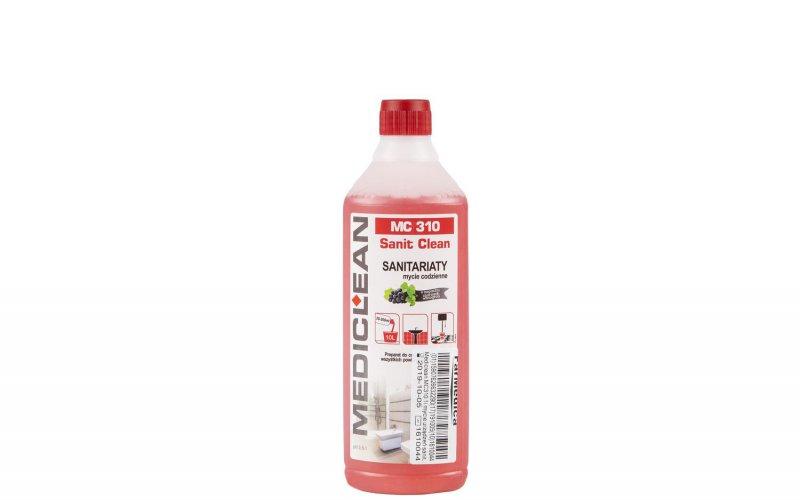MEDICLEAN MC 310 1L preparat do mycia powierzchni sanitarnych